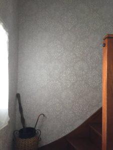 Cage d'escalier papier peint Tours - a.ba.dec