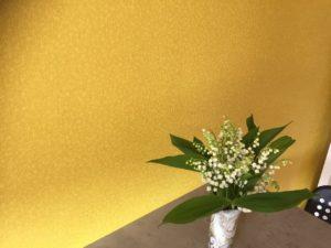 Cuisine pose revêtement mural Elitis confettis Fondettes