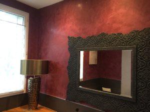 Salle de bain enduit Stucco Veneziano La Membrolle sur Choisille
